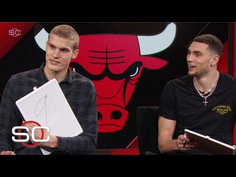 Zach LaVine, Lauri Markkanen grade their best dunks of the season   SportsCenter