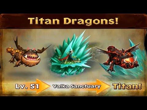 Dragons: Rise of Berk - Titan Dragons Update Released! HTTYD!