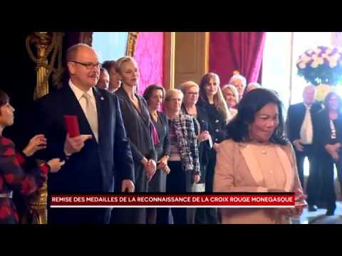 Presentation of Red Cross Medals of Recognition by H.S.H. Prince Albert II