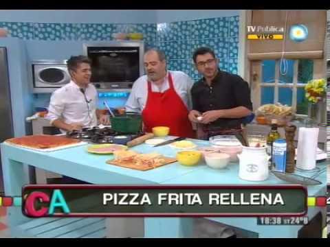 Show de pizzas fritas
