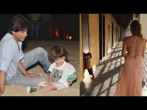 Shahrukh Khan's Son AbRam Goa HOLIDAY
