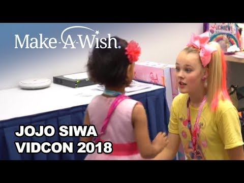 JoJo Siwa with Make-A-Wish at VidCon 2018! | Make-A-Wish®
