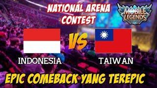 Video Epic Comeback Bisa Terjadi Karena Ada nya Usaha Indonesia vs Taiwan National Arena Contest 02112017 MP3, 3GP, MP4, WEBM, AVI, FLV November 2018