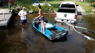 10. First Sea-Doo Launch