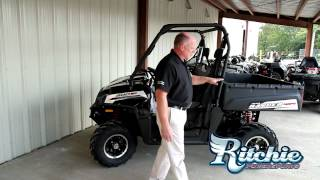 4. 2013 Polaris Ranger 800 EFI Black White Lightning LE