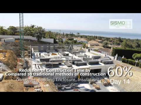 Reduction of construction time by 60% with Sismo Technology
