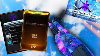 NEW MAX-GL DLC WEAPON! UNLOCKING DARK MATTER CAMO ON THE MAX-GL in BLACK OPS 3! DONATE!
