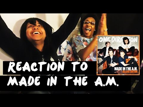 REACTION TO MADE IN THE A.M. (DELUXE) | ONE DIRECTION