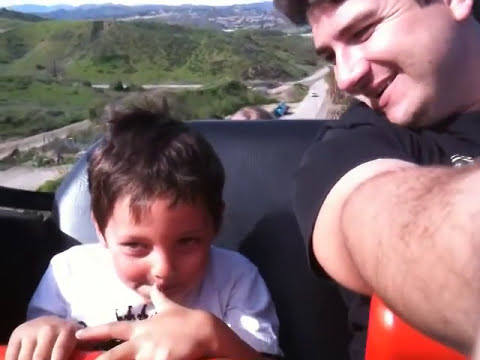kids first roller coaster ride FUNNY ABSOLUTELY HILARIOUS