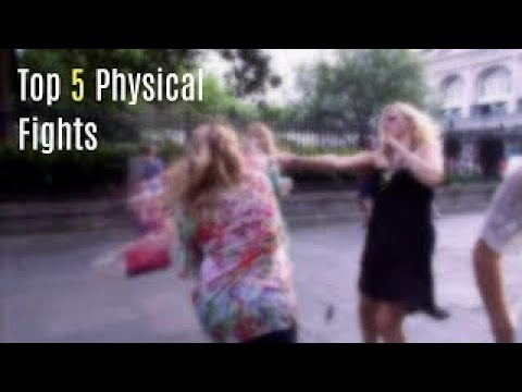 Top 5 Physical Fights On Dance Moms!