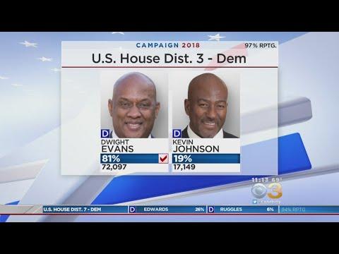 Pa. Dem Congressmen Dwight Evans, Brendan Boyle Turn Back Primary Challengers
