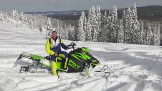 10. Motoneige Arctic Cat 2018   ZR 200   ZR 8000 et Mountain Cat 8000