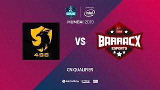 496 Gaming vs PG.Barracx, ESL One Mumbai SEA Quals, bo3, game 2 [Eiritel]