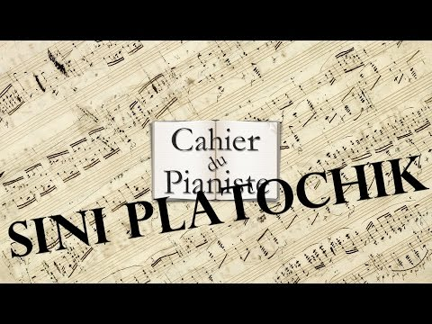 Sini platochik (Le Châle bleu) [Pianorama 1C] Traditionnel Russe