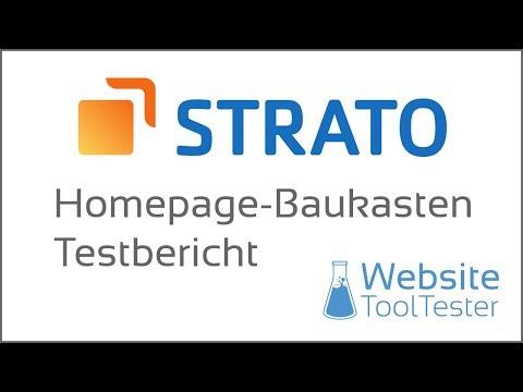 Strato Hompage Baukasten Pro Test: Der beste Homepage-Baukasten aller Zeiten?