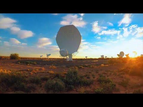 Südafrika: Stärkstes Radioteleskop der Südhalbkugel e ...