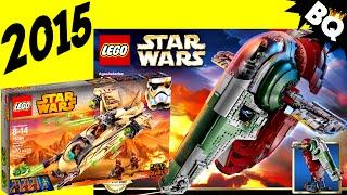 2015 LEGO Star Wars Sets & UCS Slave 1 75060 Pictures Revealed