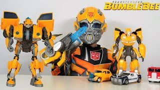Video BIGGEST Transformers Bumblebee Movie Toy Collection Unboxing With Ckn Toys MP3, 3GP, MP4, WEBM, AVI, FLV April 2019