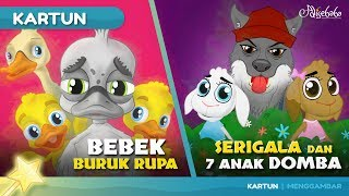 Video BEBEK BURUK RUPA + SERIGALA DAN TUJUH ANAK DOMBA cerita anak anak animasi kartun MP3, 3GP, MP4, WEBM, AVI, FLV April 2019