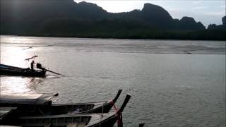 Ao Luek (Krabi) Thailand  city images : Sunset in Ao Luek - Krabi , Thailand (Mini Vlog)