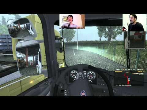 Euro - Euro Truck Simulator 2 'nin Online mod'unda busefer Forever Gamers'dan mervan ve Bülbül Tv'den sarp'la beraber tehlikelerle dolu bir yolculuk yapıyoruz.. İyi...