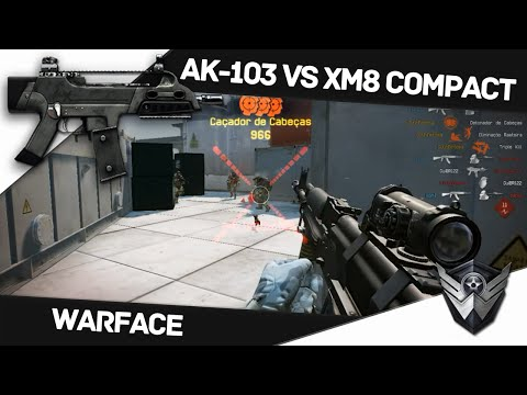 Warface: FULL CASH EU DE GP #02 - AK-103 Vs Xm8 Compact - Black Squad Chegou!