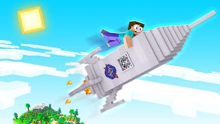 How To BUILD A ROCKET SHIP In Minecraft! (Going To Space!)