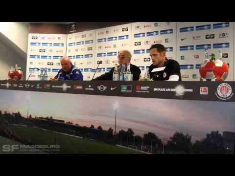 Video: Pressekonferenz: FC St. Pauli II - 1. FC Magdeburg