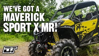 9. 2019 Can Am Maverick Sport X mr Walk Around & First Impressions