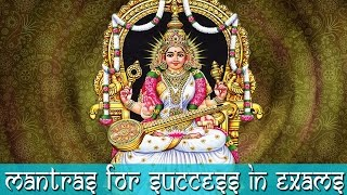 Video 3 Powerful Saraswati Mantras for Education and Knowledge - Must Listen for Success in Exams download in MP3, 3GP, MP4, WEBM, AVI, FLV January 2017