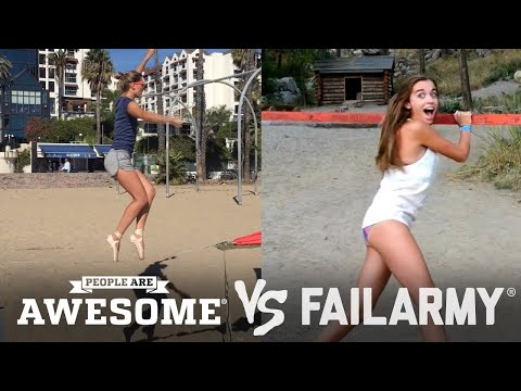 FailArmy Presents: People Are Awesome! Wins vs. Fails #2 (видео)