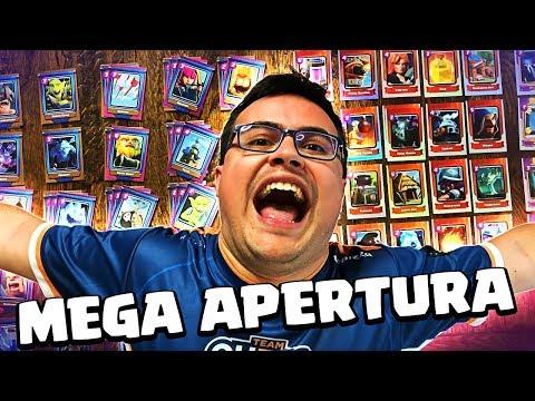 BUSCANDO LEGENDARIAS EN LA VIDA REAL ¡¡MEGA APERTURA DE SOBRES!! | Clash Royale