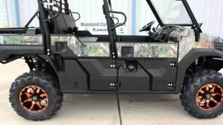 8. Kawasaki Mule Pro FXT Camo with Lift, Steel Top and More!