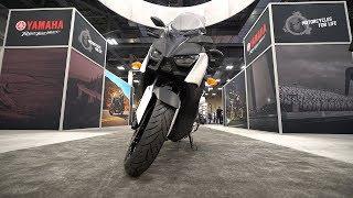 6. 2018 Yamaha XMax 300 - AIMExpo 2017   4K