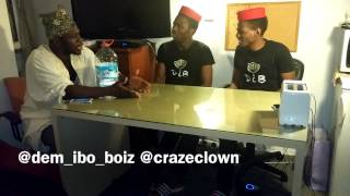 Craze Clown Interview With Dem_ibo_boiz