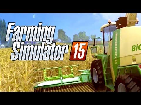трейлер Farming Simulator 15