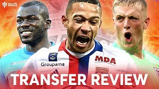 Download Video KOULIBALY, MEMPHIS, PICKFORD! Manchester United Transfer News Review MP3 3GP MP4