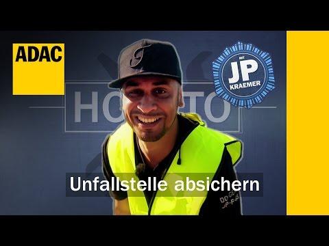 ADAC How To: Unfallstelle absichern mit Jean Pierre Kraemer | Folge 2