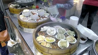 Video Hong Kong Street Food. Shanghai Style Rice Roll, Cooked Tofu, Dim Sum, Chinese Bread MP3, 3GP, MP4, WEBM, AVI, FLV April 2019