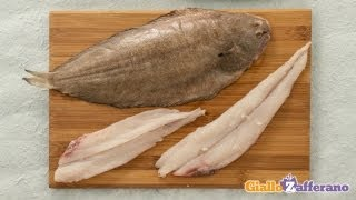 How to clean and fillet a sole - cooking tutorial
