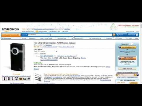 Amazon affiliate / associate tutorial – step 1