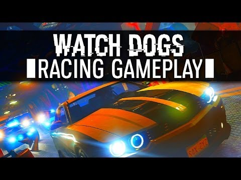 WATCH DOGS RACING GAMEPLAY - Watchdogs Multiplayer Online (PS4 1080p)