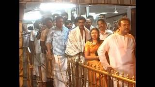 Telugu Actors Sunil and 30 Years Pruthviraj in Tirumala Exclusive video