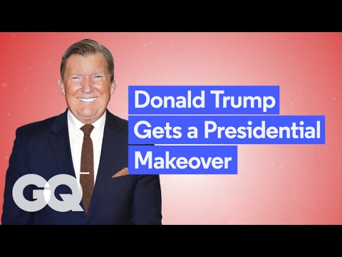 GQ Gives Donald Trump a Makeover