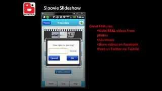 Sloovie: Slideshow Creator YouTube video