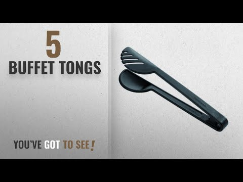 Top 10 Buffet Tongs [2018]: Tescoma Space Line Spaghetti Tongs