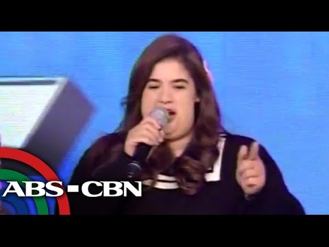 fat - Anne Curtis appeared on It's Showtime as the obese Zoe Tuazon, her character in her upcoming film