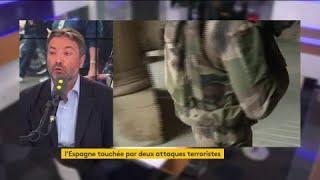 """Opération Sentinelle : """"Il faut assumer ce rôle de sécurité intérieure par l'armée"""" pour Arnaud Leroy"""