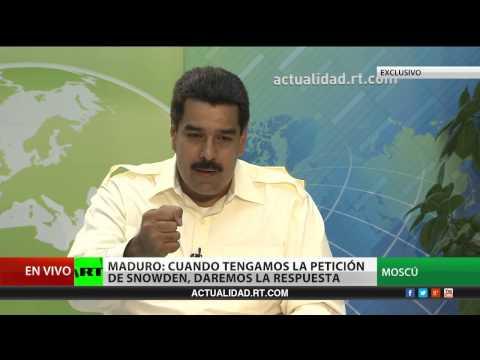 Entrevista exclusiva con Nicolás Maduro, presidente de Venezuela (Versión completa)