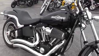 6. 084303 - 2008 Harley Davidson Softail Night Train FXSTB - Used Motorcycle For Sale